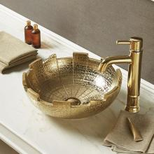 Раковина для ванной декоративная Melana MLN-J2051G (золото)